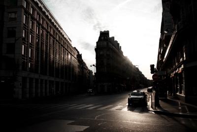 París a contraluz
